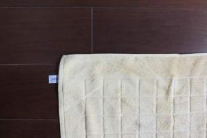 Badteppich Baumwolle
