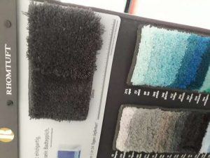 Rhomtuft Farbskala für Wunschmaß Badteppiche